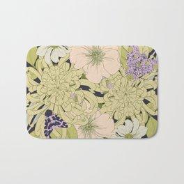 Chrysanthemum 2 Bath Mat