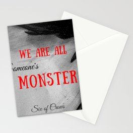 Someone's Monster Stationery Cards