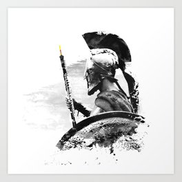Oboe Warrior Art Print