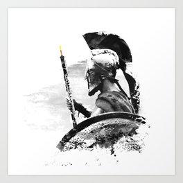 Oboe Warrior Art Print