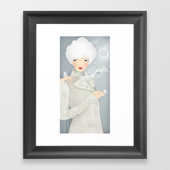 The Wings of the Dove Framed Art Print