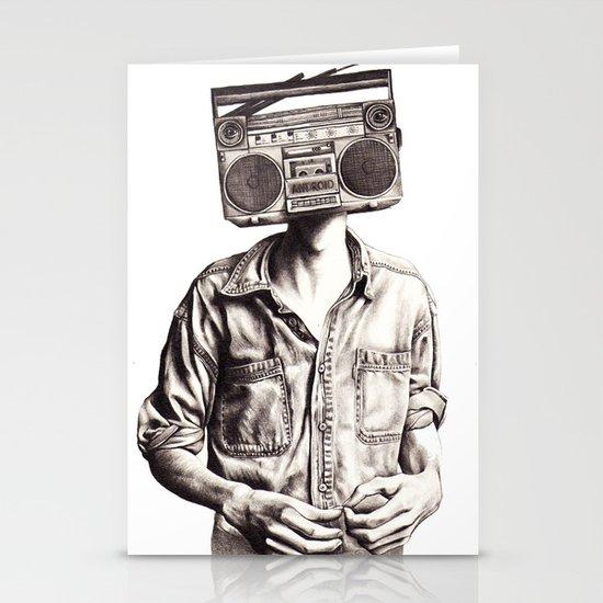 Radio-Head Stationery Cards