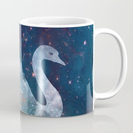 Sparkly Swan Coffee Mug