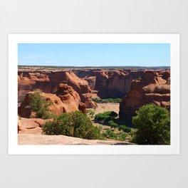 The Beauty of Canyon de Chelly Art Print