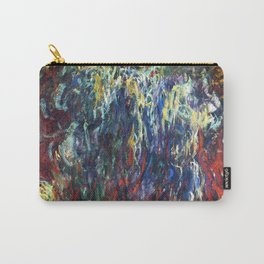 """Claude Monet """"Weeping Willow, Giverny"""", 1922 Carry-All Pouch"""