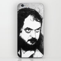 stanley kubrick iPhone & iPod Skins featuring Stanley Kubrick by Daniel Point