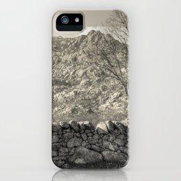 Guadarrama landscape iPhone Case