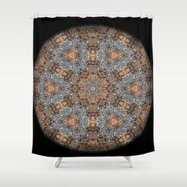 Lacebark Elm Tree Mandala #3513 Shower Curtain