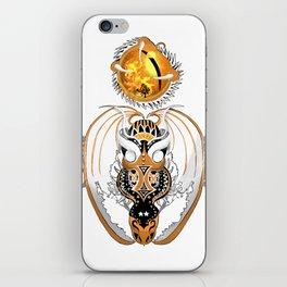 Cosmic Smoking Copperhead Dragon iPhone Skin