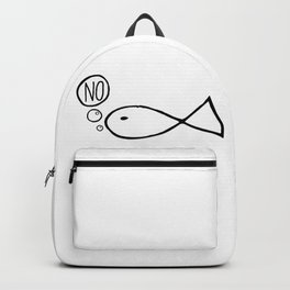 No Fish Backpack