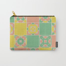 Summer Colors Grandmother's Quilt Carry-All Pouch