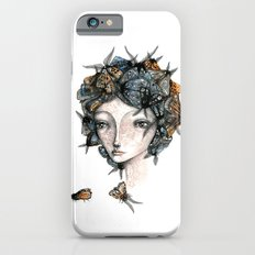The moth girl iPhone 6s Slim Case