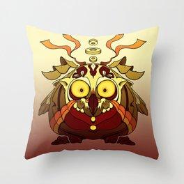 Owl Fierce Throw Pillow