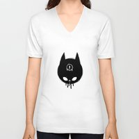 evil eye V-neck T-shirts featuring evil eye by Alexandra Caruthers