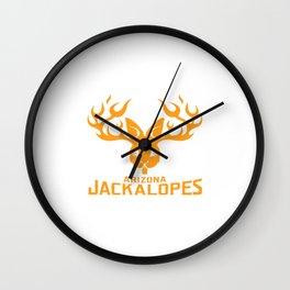 Arizona Jackalopes Wall Clock