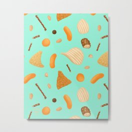 Dirty Finger Snacks Metal Print