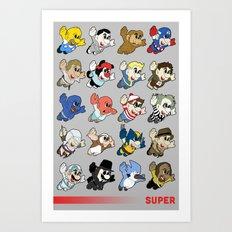 Super: Round 2 Art Print