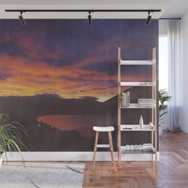 wake up & smell the campfire Wall Mural