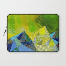 Love You to the Mountains and Back Collage Laptop Sleeve