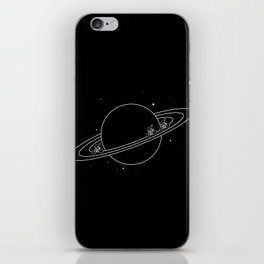 SPACE RACE iPhone Skin
