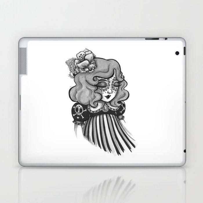 Day of the Dead Princess Laptop & iPad Skin