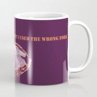 oscar wilde Mugs featuring Oscar Wilde #1 The Oyster by bravo la fourmi