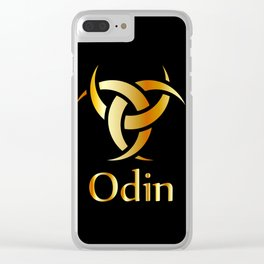 Horns of Odin Clear iPhone Case
