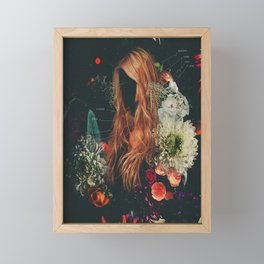 SPACE AND HUMANITY Framed Mini Art Print