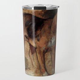 "William Holman Hunt ""Study Of A Bloodhound"" Travel Mug"