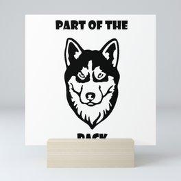 Part of the Pack Mini Art Print