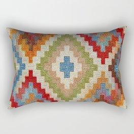 kilim rug pattern Rectangular Pillow