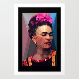 Techy Fridart Art Print