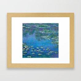 Claude Monet - Water Lilies Framed Art Print
