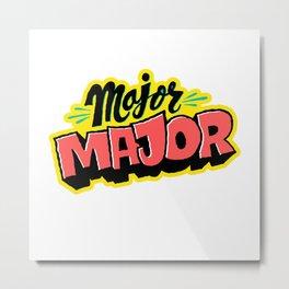 Major Major Metal Print