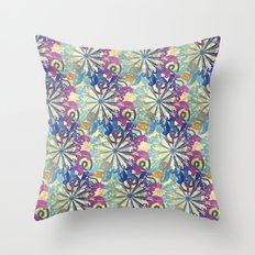 Pattern fantasy Throw Pillow
