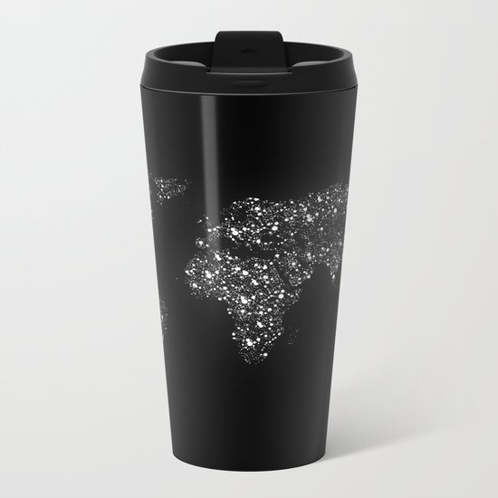 Tiny light spec in the great big universe Metal Travel Mug