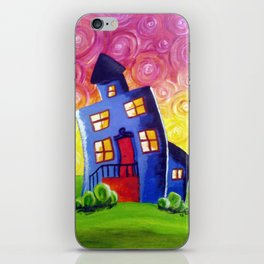 Happy House iPhone Skin