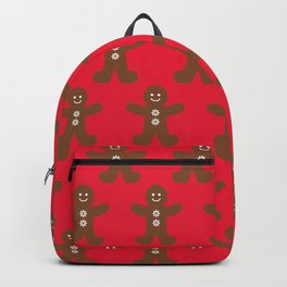 Christmas and Hanukkah Holidays Gingerbread Cookies People Backpack