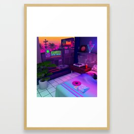 Room 84 Framed Art Print
