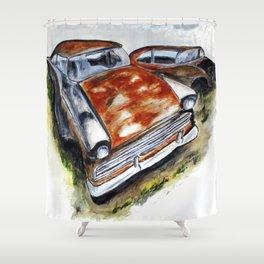 Junk Car No. 10 Shower Curtain