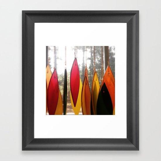 Colorful Morning Framed Art Print