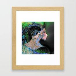 She Has a Certain Rhythm Framed Art Print