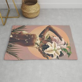 Floral beauty 3 Rug
