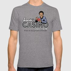 Lando's Casino Tri-Grey LARGE Mens Fitted Tee