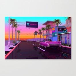Junipero Canvas Print