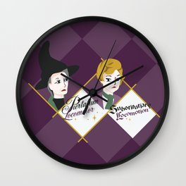 Witches Wall Clock