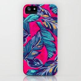 Palm Sketch Glow iPhone Case