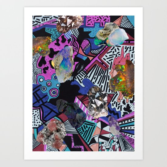 RADICAL ▲  SYNTHIA  Art Print