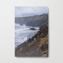 NorCal Coast Metal Print