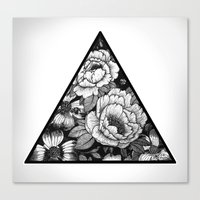 triangle Canvas Prints featuring Triangle by adroverart